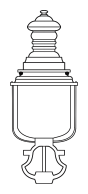 Lampenkopf 30