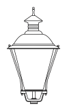 Lampenkopf 40