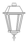 Lampenkopf 50W