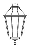 Lampenkopf 61W