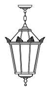 Lampenkopf 70Z