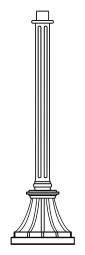 Lampenmast M19