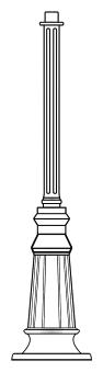 Lampenmast M22