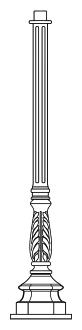 Lampenmast M26