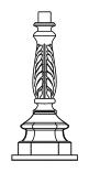 Lampenmast M28