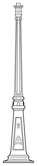 Lampenmast M37