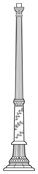 Lampenmast M38