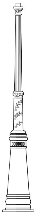 Lampenmast M40