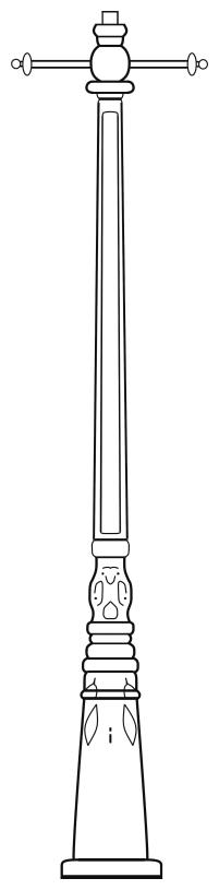 Lampenmast M42