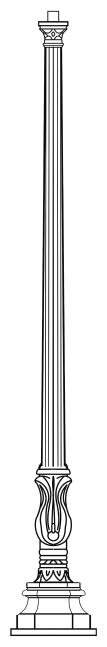 Lampenmast M46