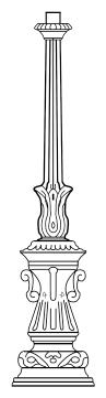 Lampenmast M9