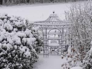 Verzinkter Gartenpavillon (sechseckig)
