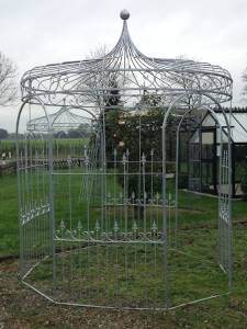 Metallpavillon für Ihren Garten