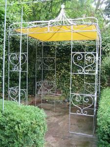Gartenpavillon 3x3 aus Metall