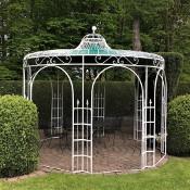 hochwertiger pavillon aus metall f r den garten. Black Bedroom Furniture Sets. Home Design Ideas