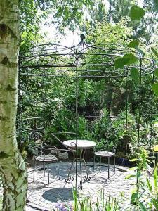Verzinkter Rankpavillon für den Garten