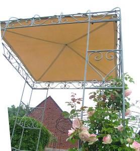 Feuerverziter Rosenpavillon aus Eisen